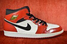 more photos 57d4b cc860 WORN ONCE Air Jordan 1 Retro Size 13.5 136085 106 Chicago Bulls Patent 2003  Mid