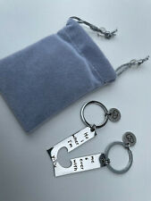Couple keychain Home Keychain Home is Wherever I'm with You Keychain Set