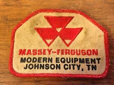 "Masey-Ferguson Modern Equipment TN Embroidered Sew On Patch (2.75"" X 4"")"
