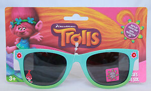 Trolls Princess Girls Sunglasses 100% UV Protection Little Kids Childrens Shades