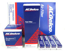 ACDelco Mazda 3  2.0L Service Filter Kit Oil Air Fuel Filter Spark Plugs