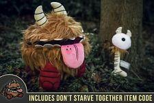 Official Don't Starve Together Chester Plush Figure Statue V2.0 + Backpack Code