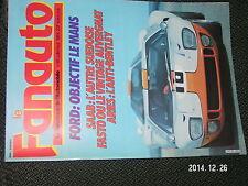 ** Fanatique de l'Automobile n°190 Vincent Ford GT40 ARIES de 3 litres FASTO