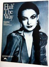 CRYSTAL GAYLE Sheet Music HALF THE WAY Columbia Pict. Publ. 70's COUNTRY Pop