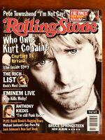 ROLLING STONE  AUS OCT 2002 Nirvana Kurt Cobain, Eminem, Bruce Springsteen, Moby
