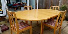 Danish Mid Century Dining Table and Chairs