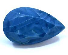 54.5 Ct Natural Australian Blue Opal AGSL Certified Museum Grade Facet Gemstone