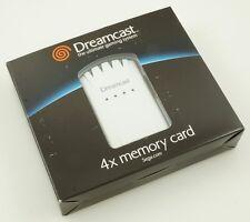 Sega Dreamcast - OEM 4x Memory Card - Brand New HKT-4100 NICE