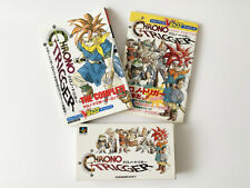 lot 3 CHRONO TRIGGER SFC Super Famicom : Complete Guide 2 books SET JAPAN