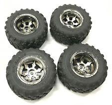 HPI Racing Spike Style 2.2 Inch Wheel & Tyre Set   Firestorm MT2