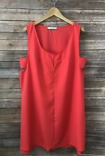 Women's The Vanity Room Shift coral dress New Plus size 3X New
