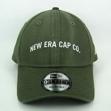 New Era Para hombre Vintage de Moda Verde Militar básicas esenciales Gorra  Ajustable 940 a92a415f590