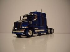 DCP 1/64 BLUE AND BLACK WESTERN STAR 5700XE WITH MID ROOF SLEEPER