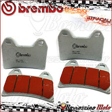 4 FRONT BRAKE PADS BREMBO SINTERED ROAD-RACING APRILIA TUONO FIGHTER 1000 2003
