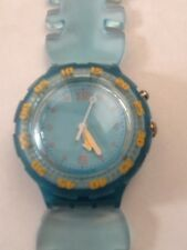 "SWATCH WATCH ""SPINE"" NEW IN BOX MINT SCUBA LOOMI SDN910"
