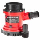 """Johnson Pump 1600 GPH Bilge Pump 1-1/8"""" Hose 12V photo"""