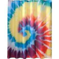 "Bathroom Decoration Shower Curtain 72x72"" Cool Tie-Die Design Polyester Fabric"