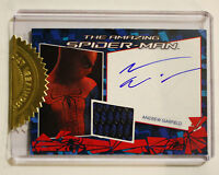 The Amazing Spider-Man Andrew Garfield Autograph Card Costume RARE Memorabilia