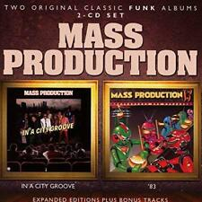 Mass Production - In A City Groove / '83 (NEW 2CD)