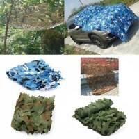 2x3M Camouflage Camo Net Cover Netting Hide Hunting Military Army Woodland Camp