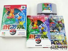 Complete Pokemon Stadium 1 jp Nintendo 64 Japanese Import N64 Japan US Seller B