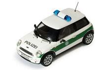 Ixo MINI COOPER POLIZIA (German Police) modello anno di costruzione 2002, 1:43