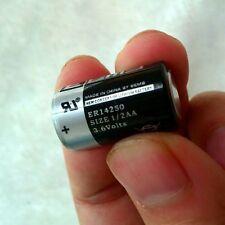1PC New 3.6V 1200mAh ER14250 LI-SOCl2 1/2AA Battery Non-rechargeable