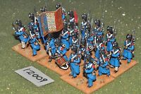25mm napoleonic / french - plastic guards 24 figs - inf (12009)