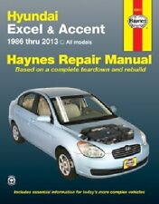 Repair Manual fits 1986-2013 Hyundai Accent Excel Haynes