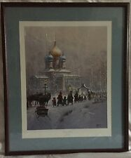 WHOSOEVER BELIEVETH by G. Harvey  Framed Signed Limited Edition with COA