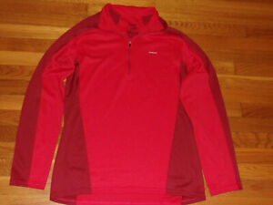 PATAGONIA 1/2 ZIP LONG SLEEVE LIGHTWEIGHT PULLOVER MENS LARGE EXCELLENT COND.