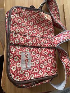 Genuine UK Cath Kidston Bag Shoulder Crossbody Red White Floral