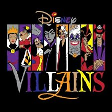 DISNEY ********VILLIANS **************T-SHIRT IRON ON TRANSFER