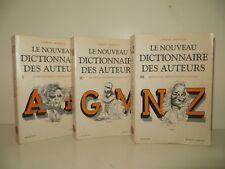 le nouveau dictionnaire des auteurs par Laffont Bompiani collection bouquins