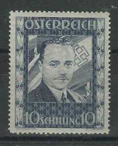 Austria 1936 Dollfuss 10s. very lightly hinged mint