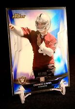DEREK CARR 2014 Topps Finest Blue SP Rookie Card 41/99 Raiders