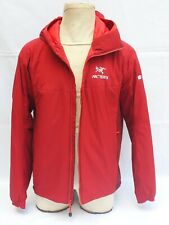 Arc'teryx Insulated Men's Jacket Hoodie Large Red  Logos of Windows10 and CDW