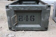 Ex MOD British Army Military Laycorn Storage Box Transport/Transit (Swamp Vans)