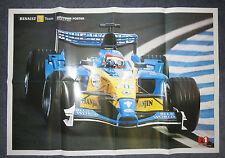 Fernando Alonso  2003  Renault R23  Renault F1 Team     Large Poster