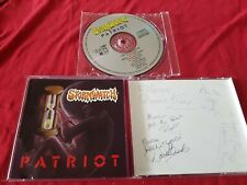 Stormwatch - Patriot- Autographed signed Cd