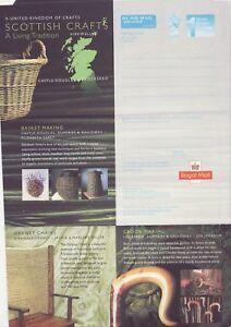 GB Stamps Aerogram / Air Letter APS137 - 1st NVI Scottish Crafts Issue 1999