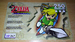 ZELDA THE WIND WAKER VIP POINTS (PAL) - NINTENDO GAMECUBE *BEST OFFER* *TRACKED*