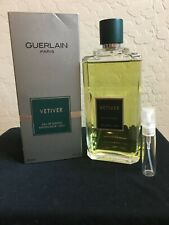 Guerlain Vetiver Men's Fragrance 5 ml Sample/Decant
