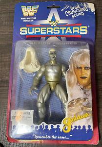 WWF WWE - GOLDUST SUPERSTARS BONE CRUNCHING SOUND JAKKS FIGURE SERIES 1 NEW!