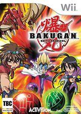 Bakugan: Battle Brawlers (Wii) Nintendo Wii PAL USED GOOD CONDITION