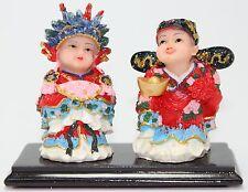 Feng Shui Bride& Groom Wedding Couple Statue Figurine Marriage Luck Wedding Gift
