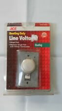 Lux Products Corporation 11042 Single Pole Line Voltage Thermostat