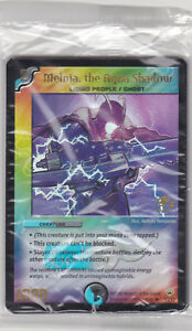 Duel Masters FOIL PROMO 8 x  MELNIA, the AQUA SHADOW P3/Y3 SEALED PACK Tracked A