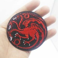Red Dragon Targaryen Game Of Thrones Iron on Patches Embroidered Badge Applique
