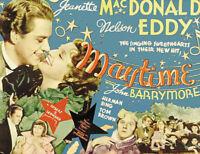 Maytime Jeanette MacDonald vintage movie poster #3